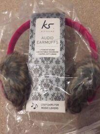 Brand new audio earmuffs