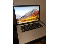 """MacBook Pro 15"""" SSD *** Details in the pictures ***"""