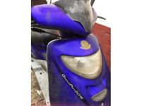 Rare moped for parts