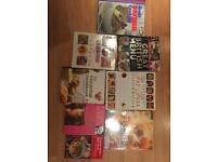 8 cookery books, some brand new