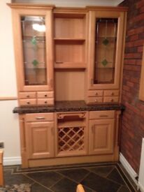 Large fitted kitchen by Durr Furniture complete with appliances
