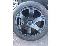 Audi A3 alloys tyres mk4 golf 5/100 etc