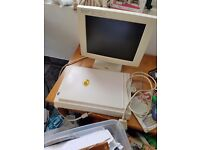 Computer monitor and printers