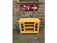 Oak TV Cabinet * free furniture delivery *