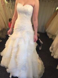 Wedding dress for sale size 8/10