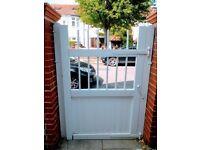 Gate wood period white