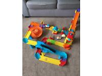 Toot toot vtech train set toy age 1 - 5 years, plus car ramp.