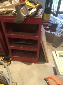 Metal shelf's
