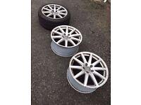 Original Audi TT Mk2 18 inch Alloy Wheels good condition £100 each.
