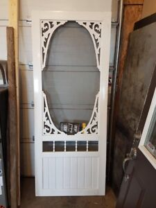 New vinyl screen door. 32x80