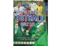 The ultimate football quiz kit
