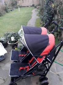 DOUBLE BUGGY O'BABY SOUTHEND ON SEA
