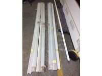 Dry Lining Trim -Shadow Gap Detail - aluminium powder coated white