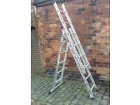 Werner 3section ladders