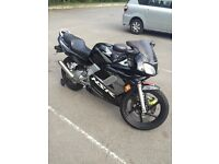 **Black Honda NSR 125cc for sale**