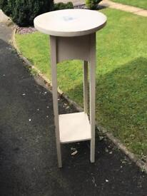 Recycled Telephone Table