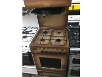 Brown leisure 55cm high level gas cooker grill & oven good condition with guarantee bargain