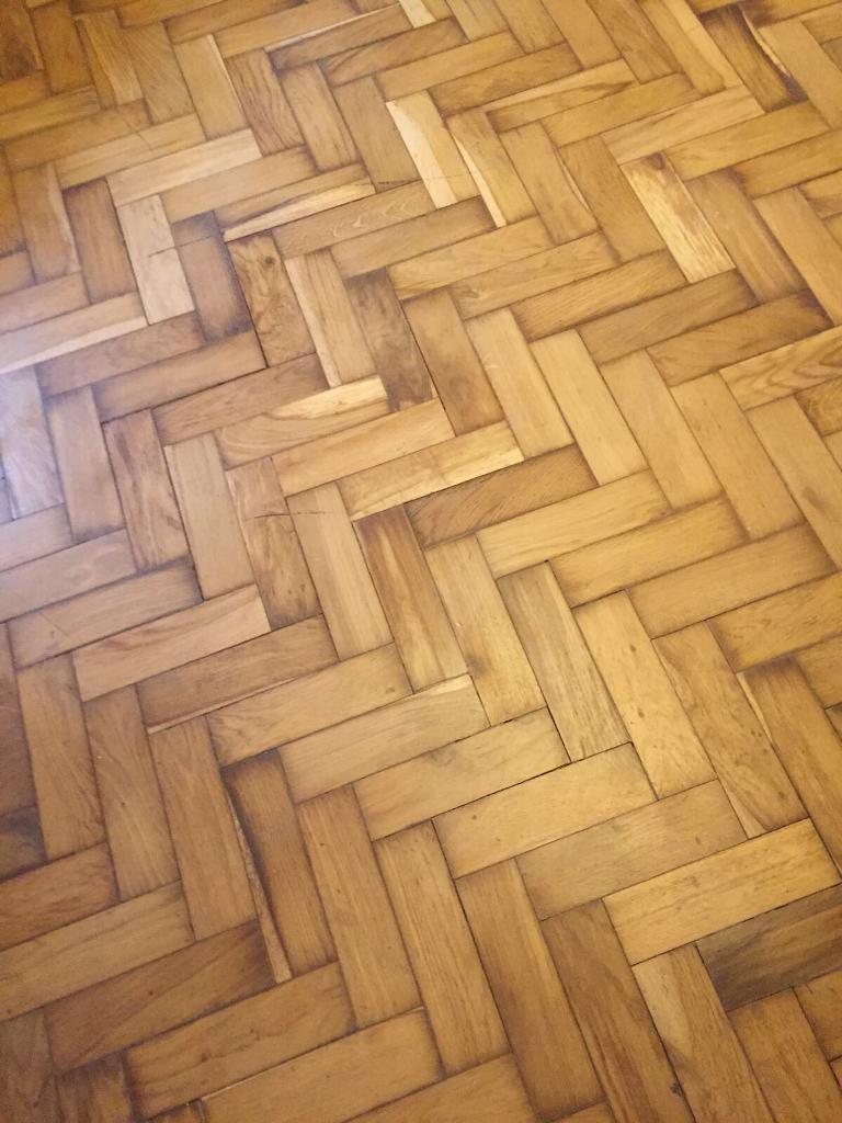 Reclaimed Oak Parquet Flooring