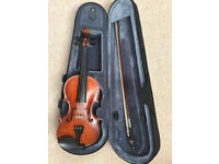 authentic 1/2 violin hand made by Bulgarian violin master maker