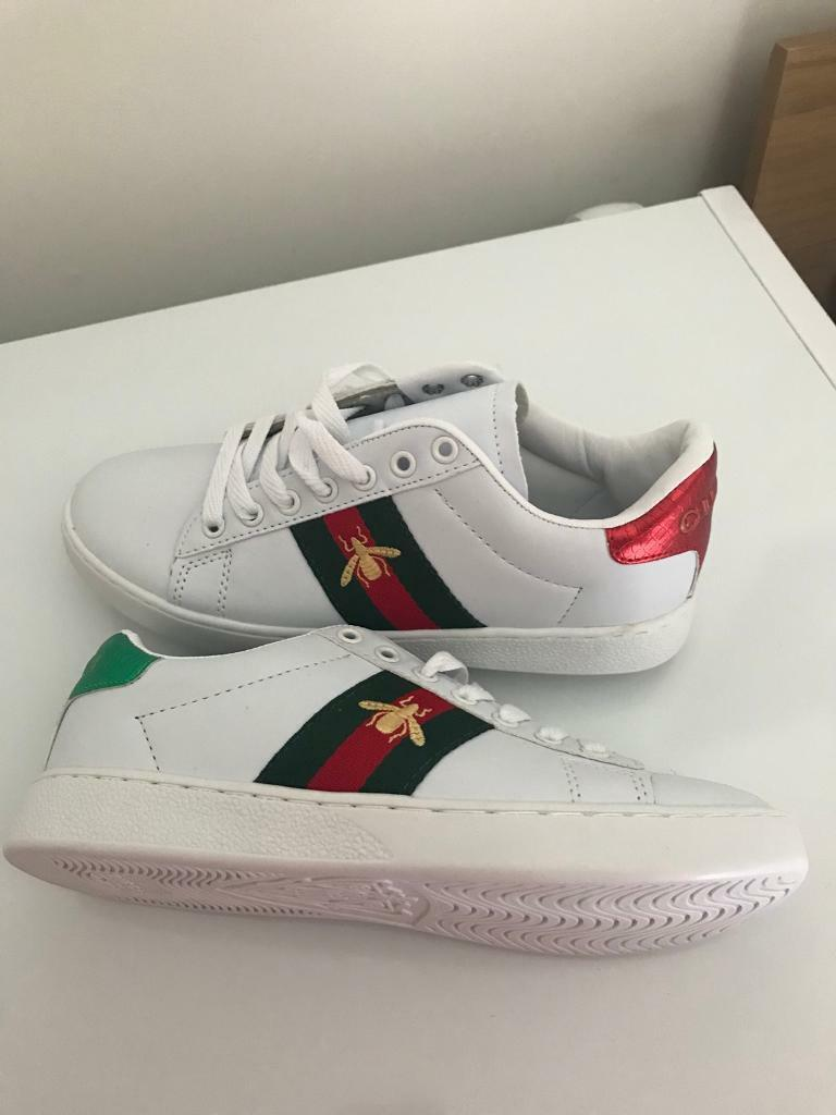 Unisex Gucci trainers - UK size 5  102716deff36