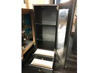 IKEA black kitchen wall cabinet