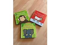 3 Usborne touchy-feely books