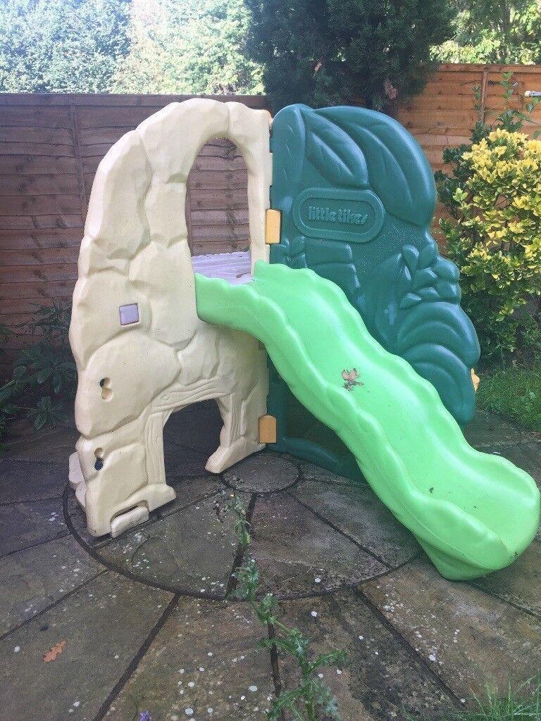 Sold subject to collection Little tikes outdoor garden slide climbing activity centre