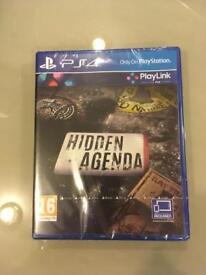 Hidden Agenda Play Link PS4 Game