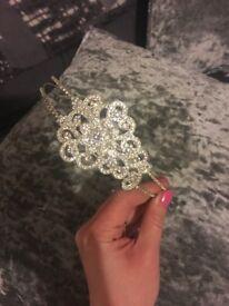 Prom/bridal sparkle headband