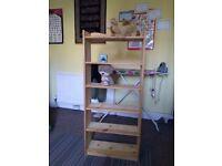 A small bookshelf