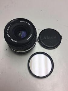 Nikon Nikkor series E 28mm f2.8 AIS manual focus Zoom lens with 90 days warranty