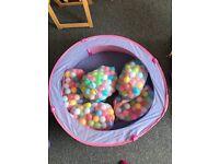 Balls pit + 500 balls(aprox)