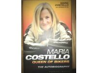 Signed Maria Costello book,