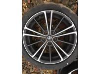 Toyota GT86 spare oe alloy wheel