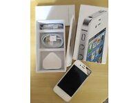 iphone 4s, white, 16gb, locked to EE network.
