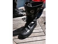 MOTOR CYCLE LEATHER BOOTS