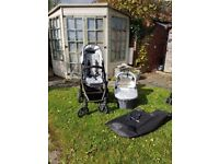 Upper Baby Vistra travel system