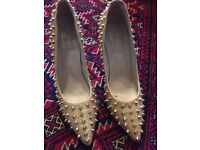Christian louboutin spiked size 7