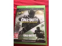 Call of duty infinite warfare/ modern warfare remastered Xbox one