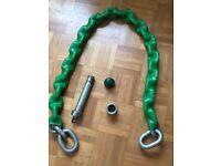 Bulldog chain lock system