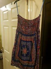 Blue dress size 12