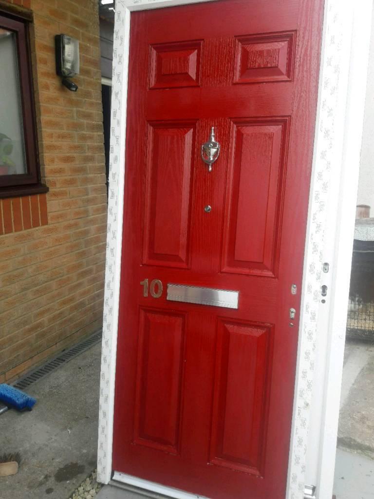 Red Composite Door New In Hengoed Caerphilly Gumtree
