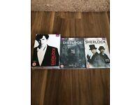 BBC Sherlock Set Two Brand New in Cellophane