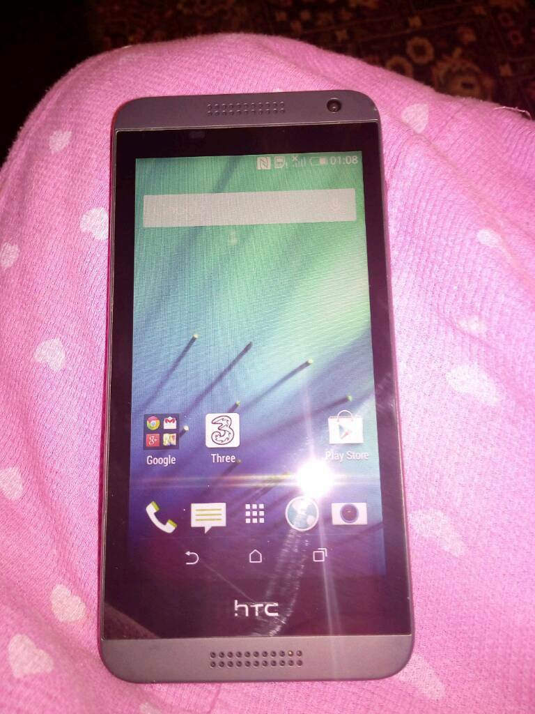 Htc desire 610 on 3 network please read description