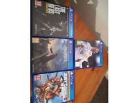 various playstation 4 games look at ad for titles and prices