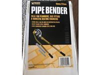 PIPE BENDER 15mm/22mm £20