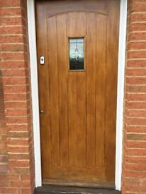 Cottage style front door - solid timber