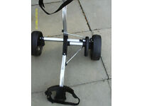COMPACT FOLDING GOLF TROLLEY