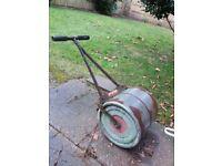 Little giant lawn roller concrete