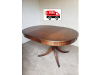 Solidwood extendable Dinning table (free delivery)
